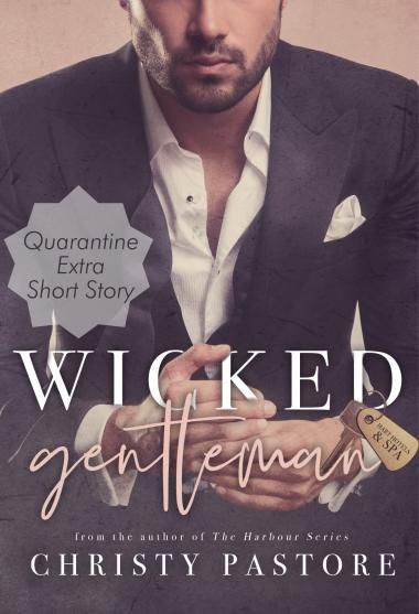 Wicked Gentleman cover art with Quarantine-themed Bonus Material