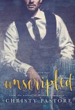 Book cover with a man in a tie and suit vest